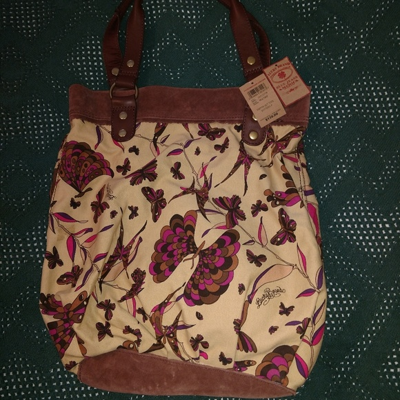 Lucky Brand Handbags - Lucky Brand, Tripping Out Tote Butterfly